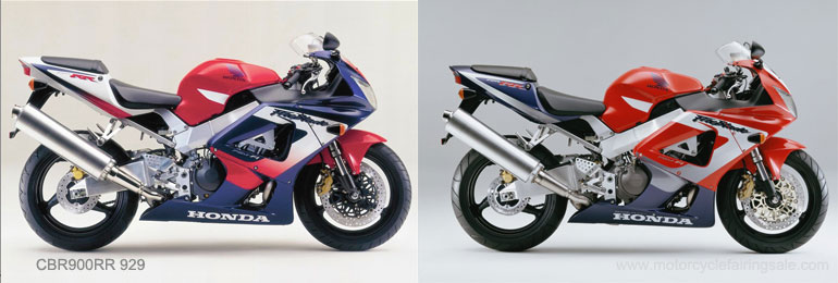 We Have Various Colors And Designs For 00 01 CBR900RR 929 Motorcycle Fairing SetsWe Also In Stock Clear
