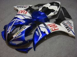Yamaha YZF-R1 2009-2011 Injection ABS Fairing - FIAT - Blue/White