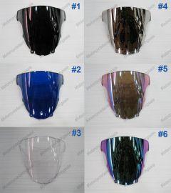 6 x Color Kawasaki NINJA ZX6R 2003-2004 Windscreen / Windshield
