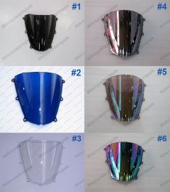 6 x Color Honda CBR600RR F5  2005-2006 Windscreen / Windshield