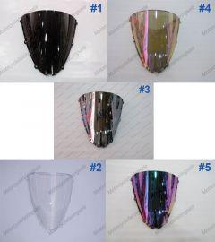 5 x Color Kawasaki NINJA ZX6R 2005-2008 Windscreen / Windshield