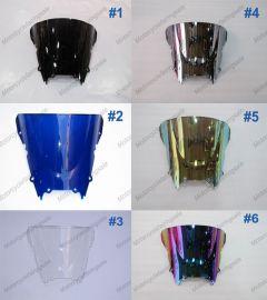 6 x Color Yamaha YZF R6 1998-2002 Windscreen / Windshield