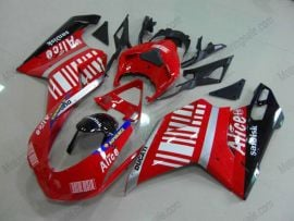 Ducati 848 / 1098 / 1198 2007-2009 Injection ABS Fairing - Alice - Red/White