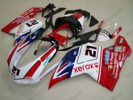 Ducati 848 / 1098 / 1198 2007-2009 Injection ABS Fairing - Xerox - Red/White/Blue