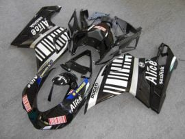 Ducati 848 / 1098 / 1198 2007-2009 Injection ABS Fairing - Alice - Black/White
