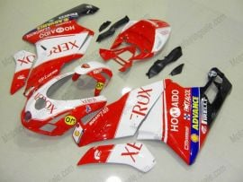 Ducati 749 / 999 2003-2004 Injection ABS Fairing - Xerox - Red/White