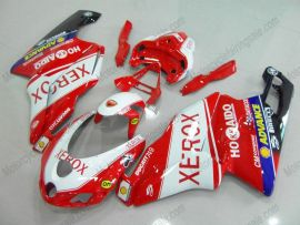 Ducati 749 / 999 2005-2006 Injection ABS Fairing - Xerox - Red/White