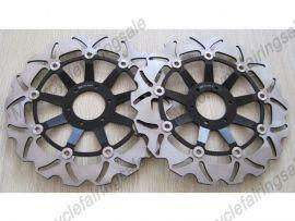 Honda RS250 CB400N CBR600F/400/900RR VFR750 VTR1000 Front Brake Disc Rotor - Black