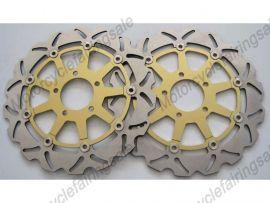 Suzuki TLS 1000CC 1997-2001 Front Brake Disc Rotor - Golden