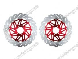 Yamaha YZF FZR 750 1000 XJR 1200 1300 Front Brake Disc Rotor - Red