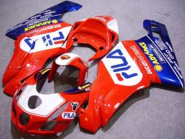 Ducati 749 / 999 2003-2004 Injection ABS Fairing - FILA - Red/Blue