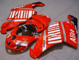 Ducati 749 / 999 2005-2006 Injection ABS Fairing - Alice - Red/White