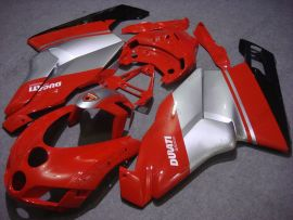 Ducati 749 / 999 2005-2006 Injection ABS Fairing - Factory Style - Red/Silver
