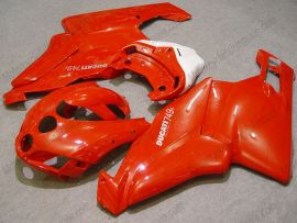 Ducati 749 / 999 2005-2006 Injection ABS Fairing - Factory Style - Red/White
