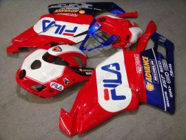 Ducati 749 / 999 2005-2006 Injection ABS Fairing - FILA - Red/White/Blue