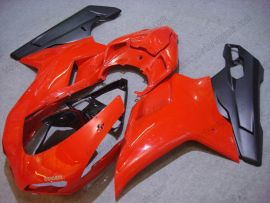 Ducati 848 / 1098 / 1198 2007-2009 Injection ABS Fairing - Others - Red/Black
