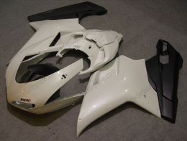 Ducati 848 / 1098 / 1198 2007-2009 Injection ABS Fairing - Others - White/Black