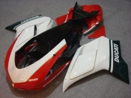 Ducati 848 / 1098 / 1198 2007-2009 Injection ABS Fairing - Others - White/Red/Black