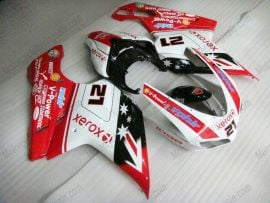 Ducati 848 / 1098 / 1198 2007-2009 Injection ABS Fairing - Xerox - Red/White/Black