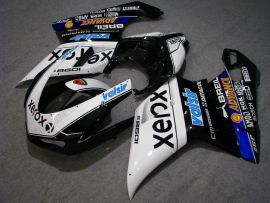 Ducati 848 / 1098 / 1198 2007-2009 Injection ABS Fairing - Xerox - White/Black