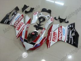Ducati 1199 Panigale 2012-2014 ABS Injection Fairing - FIAMM - Red/White