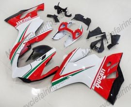 Ducati 1199 Panigale 2012-2014 ABS Injection Fairing - Others - Red/White