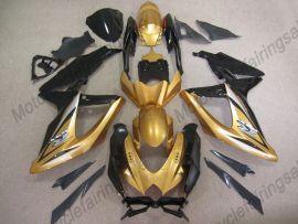 Suzuki GSX-R 600/750 2008-2010 K8 Injection ABS Fairing - Others - Black/Golden