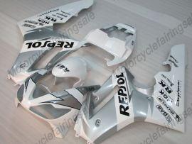 Triumph Daytona 675 2006-2008 Injection  ABS Fairing - Repsol - White/Silver