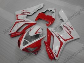 Triumph Daytona 675 2006-2008 Injection  ABS Fairing - Others - White/Red