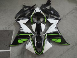 Yamaha YZF-R1 2009-2011 Injection ABS Fairing - Others - Green/Black