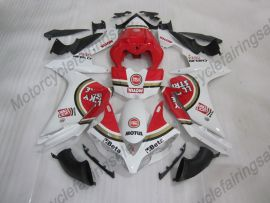 Yamaha YZF-R1 2007-2008 Injection ABS Fairing - Lucky Strike - White/Red