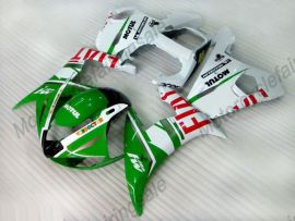 Yamaha YZF-R6 2005 Injection ABS Fairing - FIAT - green/white