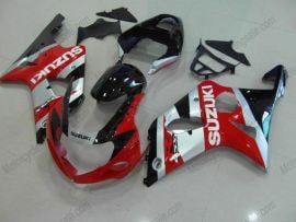 Suzuki GSX-R 1000 2000-2002 K1 K2 Injection ABS Fairing - Others - Red/Silver/Black