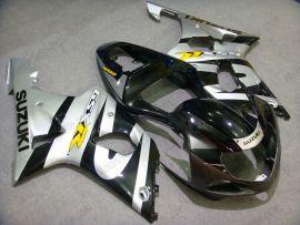 Suzuki GSX-R 1000 2000-2002 K1 K2 Injection ABS Fairing - Others - Black/Silver