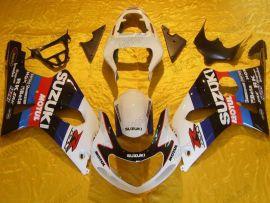 Suzuki GSX-R 1000 2000-2002 K1 K2 Injection ABS Fairing - Motul - White/Black/Red