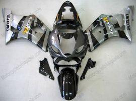 Suzuki GSX-R 1000 2003-2004 K3 Injection ABS Fairing - Others - Black/Gray