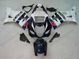 Suzuki GSX-R 1000 2003-2004 K3 Injection ABS Fairing - Others - White/Black