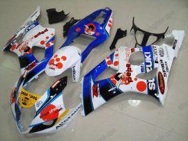 Suzuki GSX-R 1000 2003-2004 K3 Injection ABS Fairing - Dark Dog - White/Blue