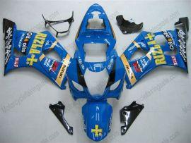 Suzuki GSX-R 1000 2003-2004 K3 Injection ABS Fairing - Rizle+ - Blue