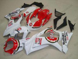 Suzuki GSX-R 1000 2007-2008 K7 Injection ABS Fairing - Lucky Strike - White/Red
