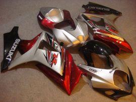 Suzuki GSX-R 1000 2007-2008 K7 Injection ABS Fairing - Others - Silver/Red