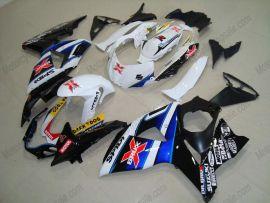 Suzuki GSX-R 1000 2009-2012 K9 Injection ABS Fairing - Dark Dog - Black/Blue/White