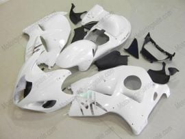 Suzuki GSX-R 1300 Hayabusa 1996-2007 Injection ABS Fairing - Others - All White