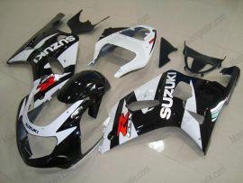 Suzuki GSX-R 600/750 2001-2003 K1 K2 Injection ABS Fairing - Others - Black/White