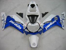 Suzuki GSX-R 600/750 2001-2003 K1 K2 Injection ABS Fairing - Jordan - White/Blue