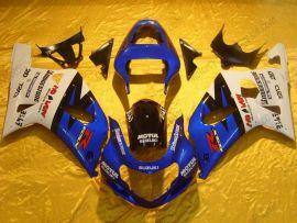 Suzuki GSX-R 600/750 2001-2003 K1 K2 Injection ABS Fairing - Motul - Blue/White