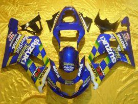 Suzuki GSX-R 600/750 2001-2003 K1 K2 Injection ABS Fairing - Movistar - Blue/Yellow