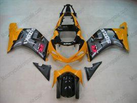 Suzuki GSX-R 600/750 2001-2003 K1 K2 Injection ABS Fairing - Others - Silver/Orange