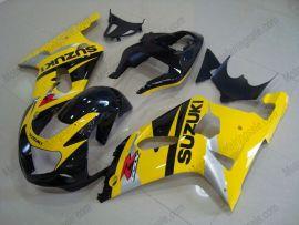 Suzuki GSX-R 600/750 2001-2003 K1 K2 Injection ABS Fairing - Others - Yellow/Black