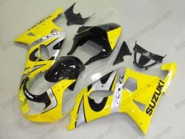 Suzuki GSX-R 600/750 2001-2003 K1 K2 Injection ABS Fairing - Others - Yellow/Black/Silver